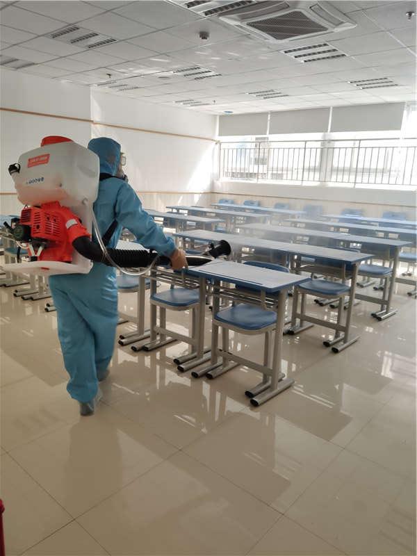 学校环境消毒